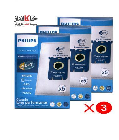 پک 3 تایی پاکت جاروبرقی فیلیپس 5 عددی
